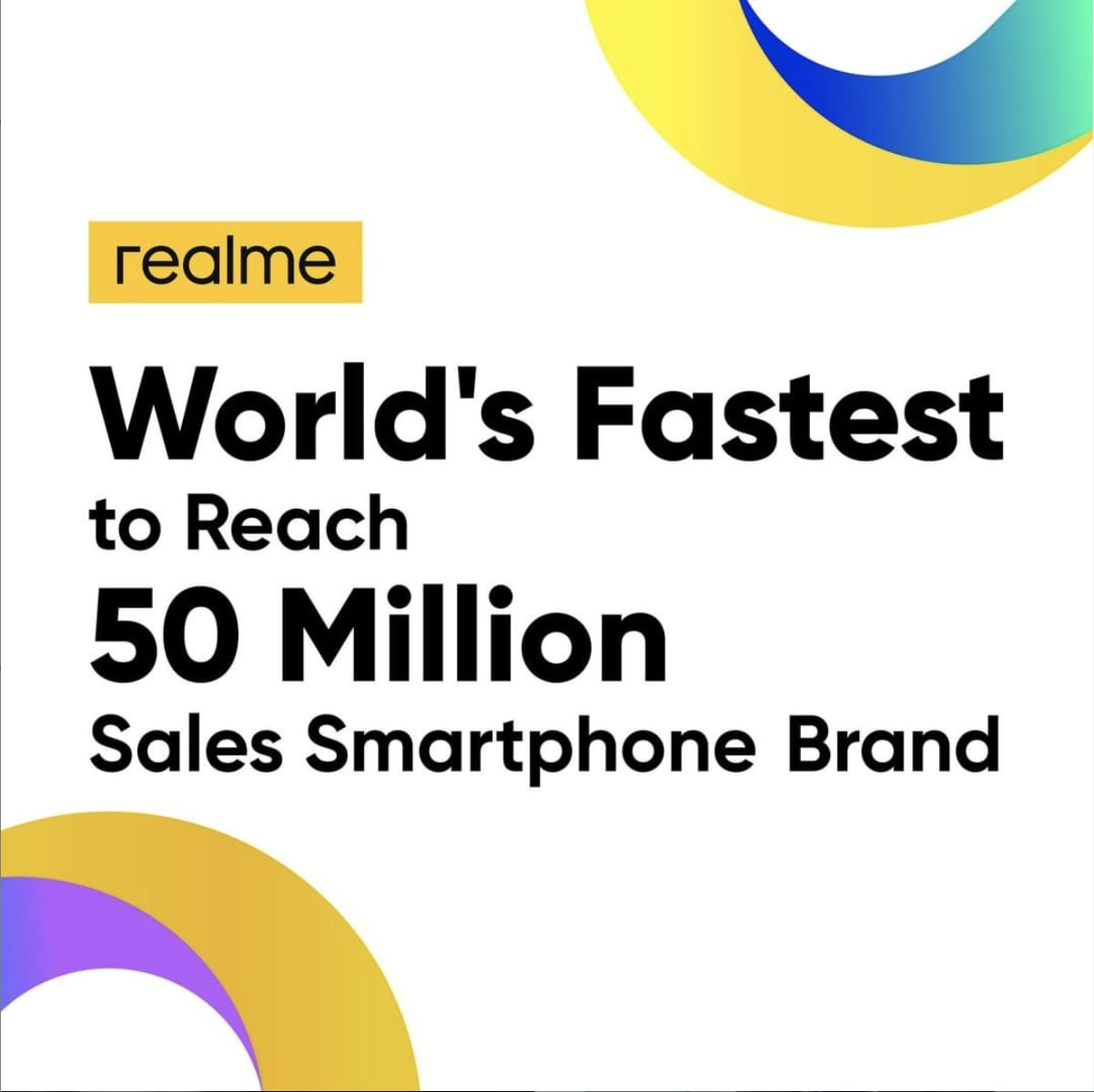 World's fastest-growing smartphone brand realme just crossed the 50 Million units milestone; now offering C17 for PKR 28,999 only