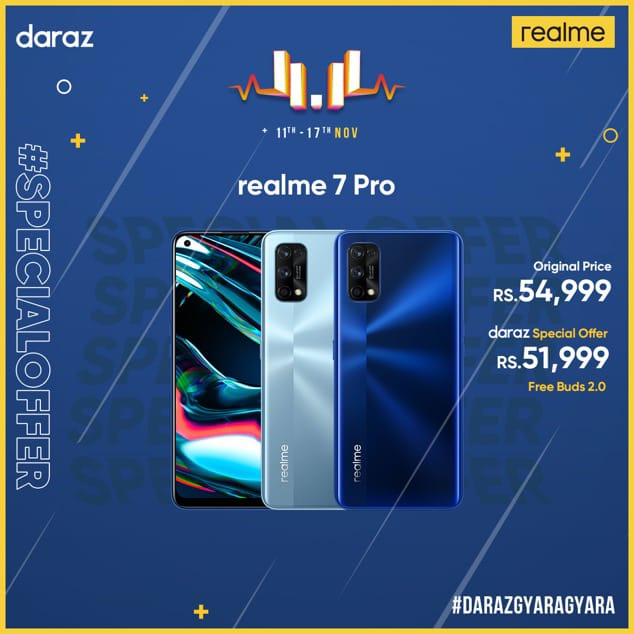 realme launches 2 + 4 new products counting 7 Pro the affordable 65W fast charging phone at the most price of Rs. 54,999