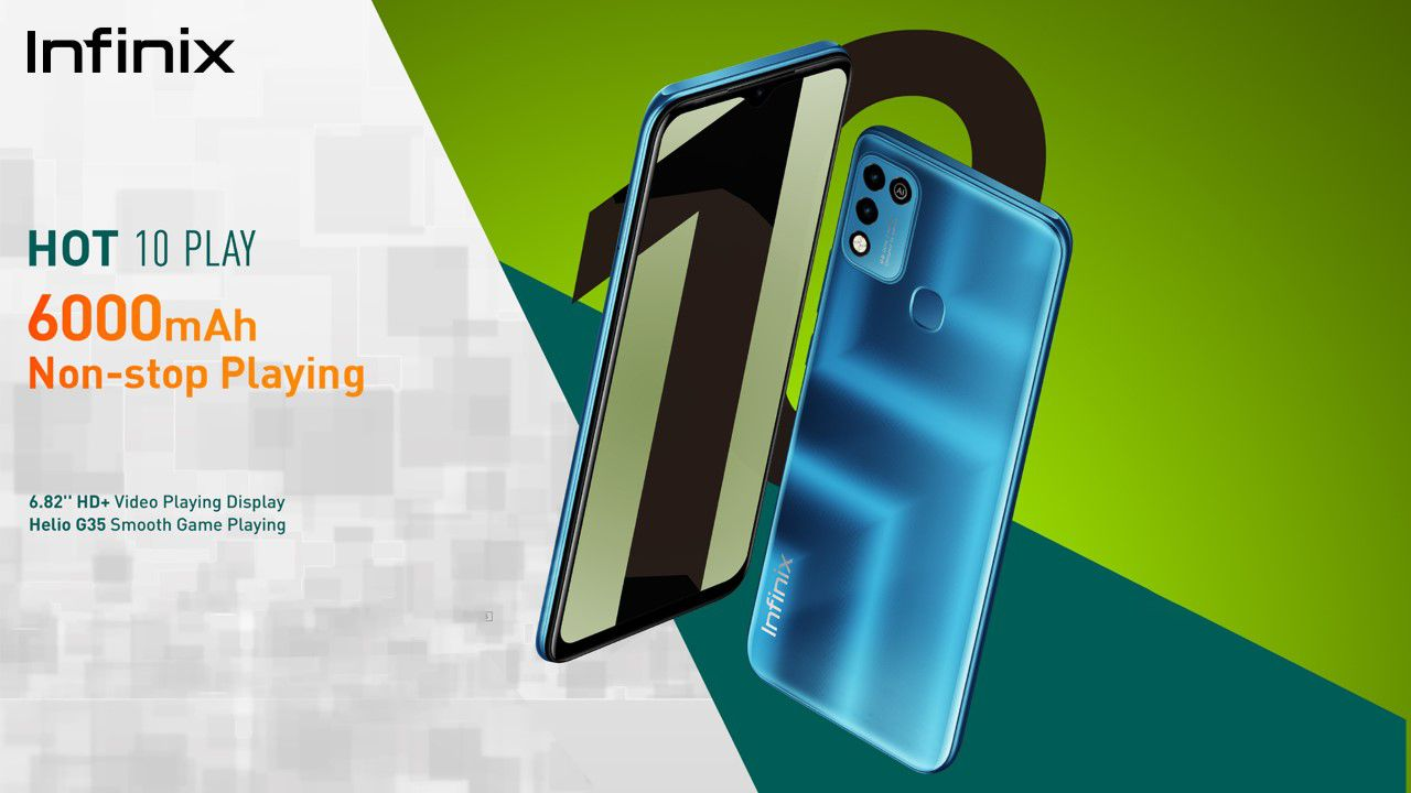 Infinix Hot 10 Play Launched in Pakistan with 6000 mAh massive Battery