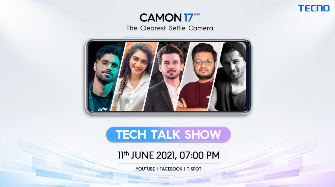 TECNO all set to unveil the new Camon 17 series in Pakistan