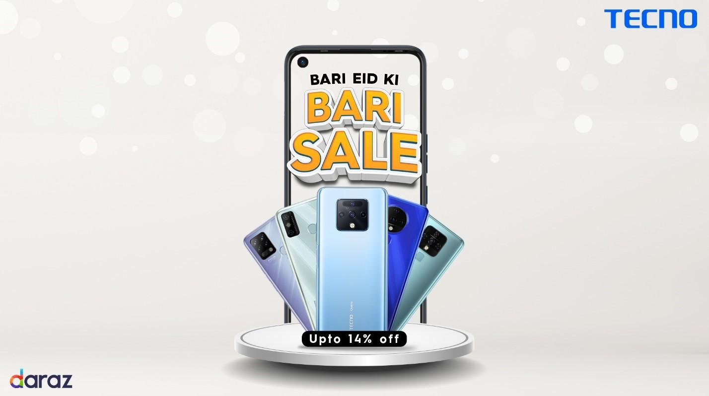 Tecno Brings Massive Discounts For Fans With �bari Eid Ki Bari Sale� Offer