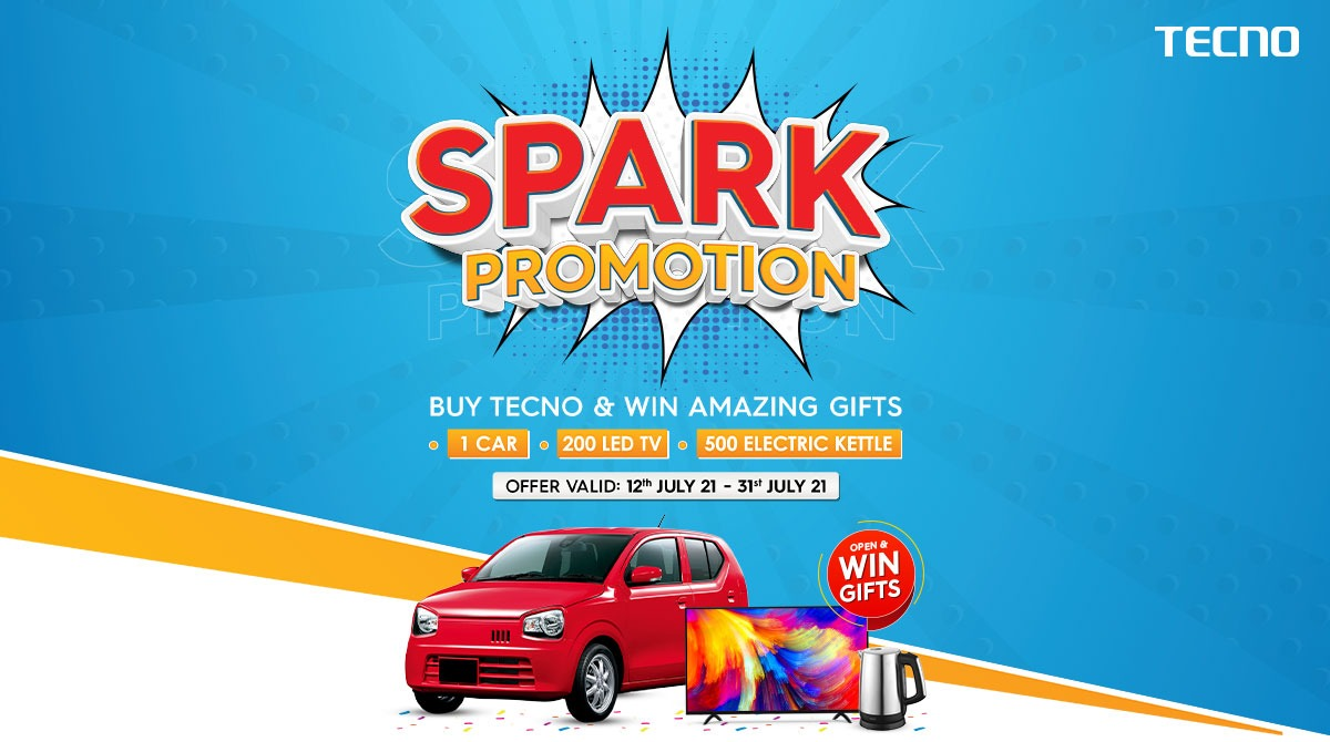 Win A Car With Tecno Spark Promotion